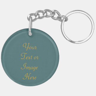 St. Clare of Assisi (SAU 027) Blank or DIY Back Keychain