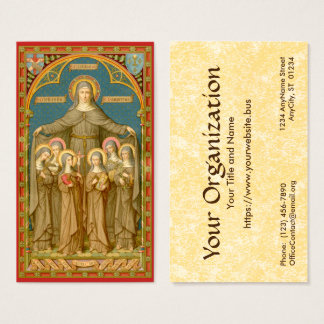 St. Clare of Assisi (SAU 027) Standard Business Card
