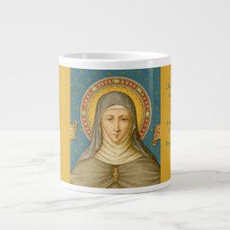 St. Clare of Assisi (SAU 027) XLarge Coffee Mug 2
