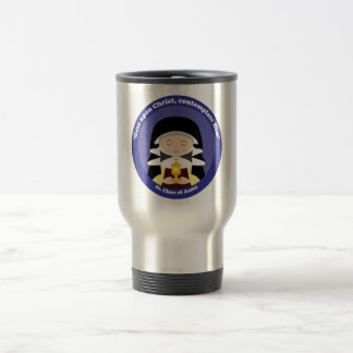 St. Clare of Assisi Travel Mug