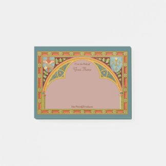 """St. Clare's Trefoil Arch (SAU 27) 4""""x6"""" Post-it Notes"""