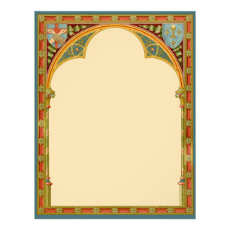 St. Clare's Trefoil Arch (SAU 27) (Sheet B) Letterhead