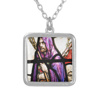 St. Columba Silver Plated Necklace