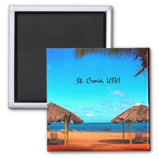St. Croix Beach Scene Magnet