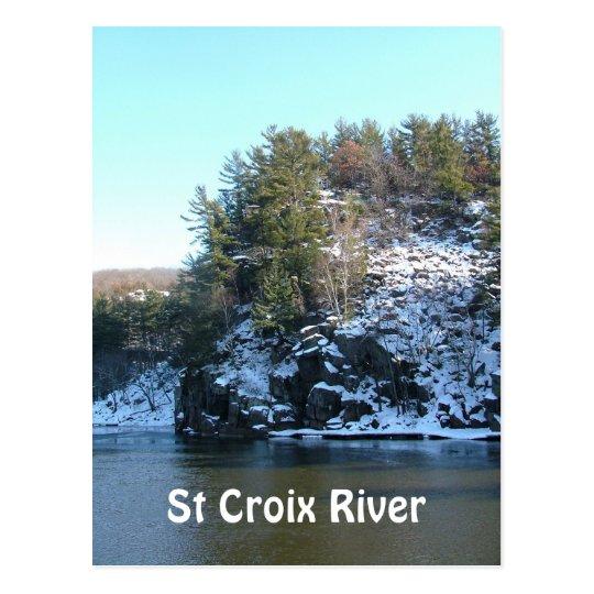 St Croix River Postcard