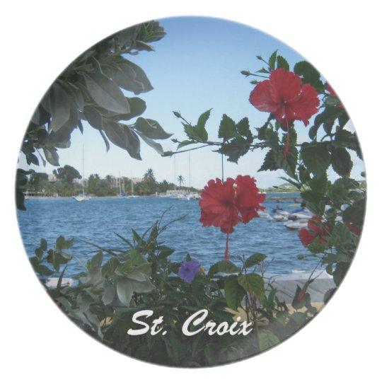 St. Croix U.S.V.I. Plate