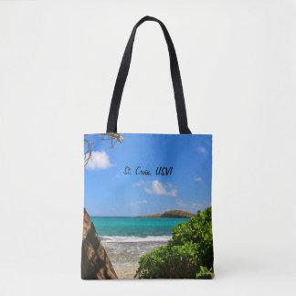 St. Croix, US Virgin Island Beach Scene Tote Bag