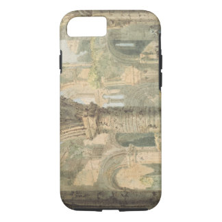 St. Cuthbert's Holy Island, 1797 (w/c over pencil iPhone 7 Case