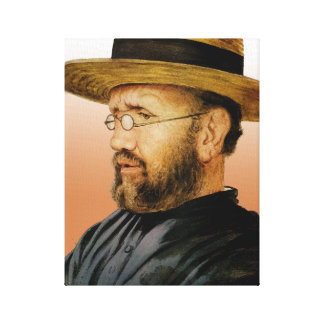 St. Damien of Molokai Canvas Print