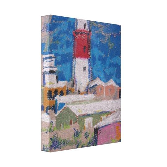St. David lighthouse Canvas Print