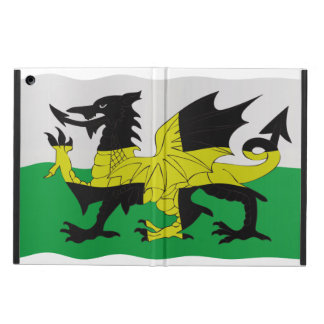 St. David's and Welsh flags combined iPad Air Cover