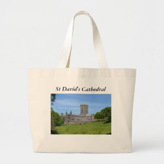 St David's Cathedral Large Tote Bag