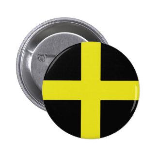 St. David's Day 2 Inch Round Button