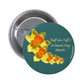 St David's Day Button