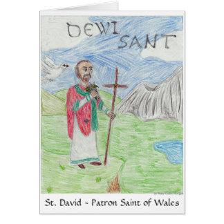 St David's Day Card 3rd Pl. WSCO