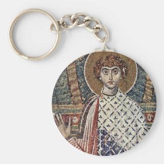 St. Demetrius By Meister Der Demetrius-Kirche In S Keychain