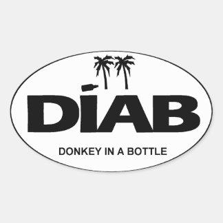ST - DIAB Initials Sticker