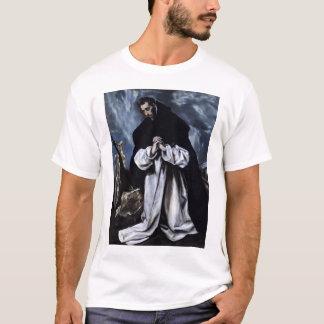 St Dominic in Prayer T-Shirt