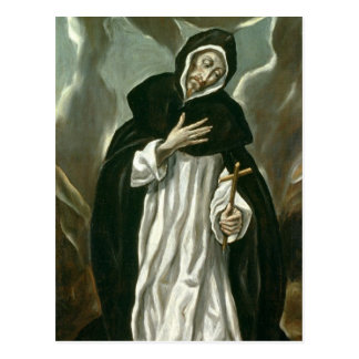 St.Dominic of Guzman Postcard
