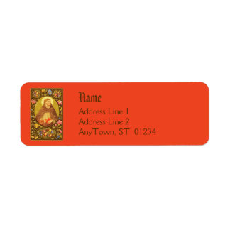 St. Dominic (PM 02) NB Return Address Label #1a