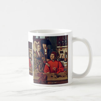 St. Eligius In His Goldsmith Workshop,  By Christu Coffee Mug