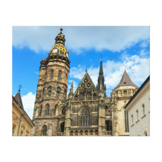 St. Elisabeth Cathedral in Kosice, Slovakia Canvas Print