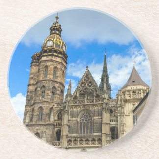 St. Elisabeth Cathedral in Kosice, Slovakia Coaster