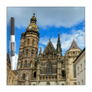 St. Elisabeth Cathedral in Kosice, Slovakia Dry Erase White Board