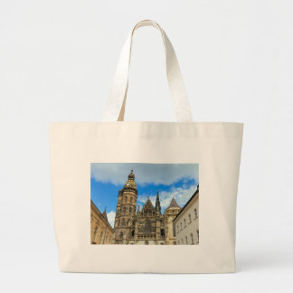 St. Elisabeth Cathedral in Kosice, Slovakia Large Tote Bag
