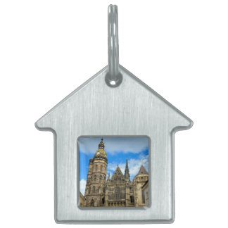 St. Elisabeth Cathedral in Kosice, Slovakia Pet ID Tag