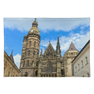 St. Elisabeth Cathedral in Kosice, Slovakia Placemat