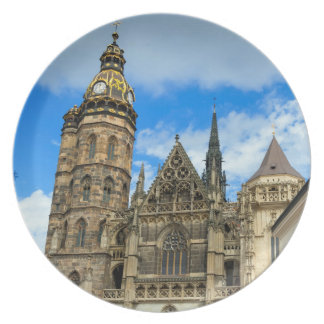 St. Elisabeth Cathedral in Kosice, Slovakia Plate