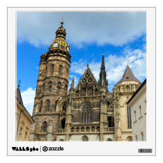 St. Elisabeth Cathedral in Kosice, Slovakia Wall Decal