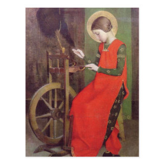St Elizabeth of Hungary by Marianne Stokes Postcard