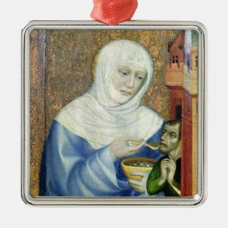 St. Elizabeth of Hungary Metal Ornament
