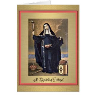 St. Elizabeth of Portugal Greeting Card