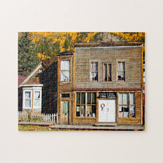 St. Elmo Colorado Ghost Town. Jigsaw Puzzle