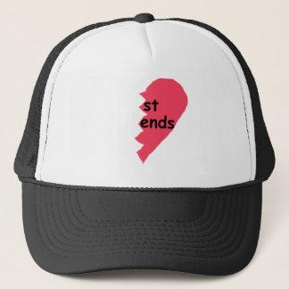 ST ENDS Best Friends half Trucker Hat