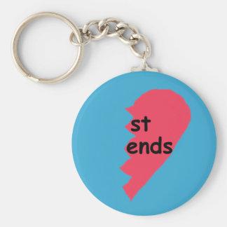 ST ENDS Keychain Half