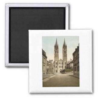 St Etienne Church, Caen, France Magnet