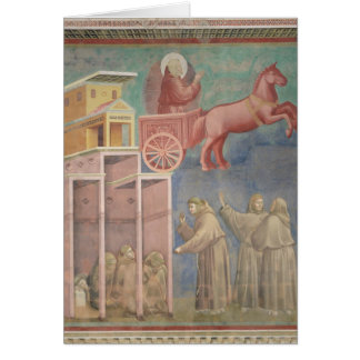 St. Francis Appears to His Companions Greeting Card