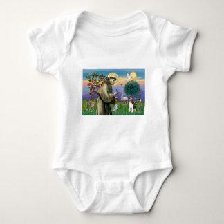 St Francis - Beagle 1 Baby Bodysuit