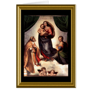 St. Francis Blessing - Christmas Greeting Card