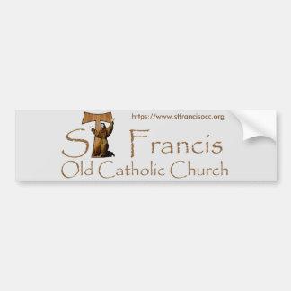 St Francis Bumper Sticker