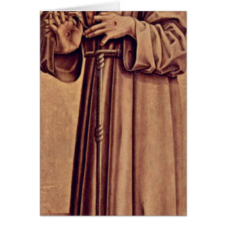 St. Francis By Carlo Crivelli Greeting Card