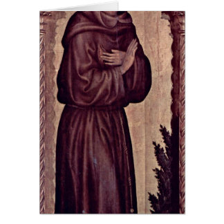 St. Francis By Gentile Da Fabriano Card