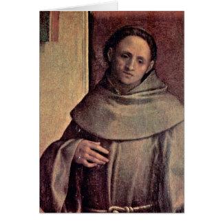 St. Francis By Giorgione Card