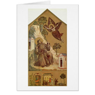 St. Francis By Giotto Di Bondone Card