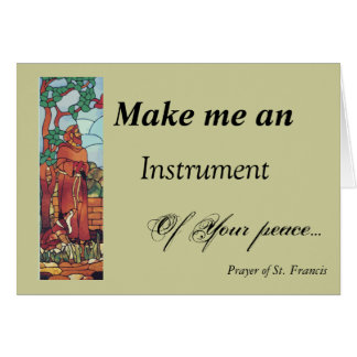 St. Francis...Card Greeting Card