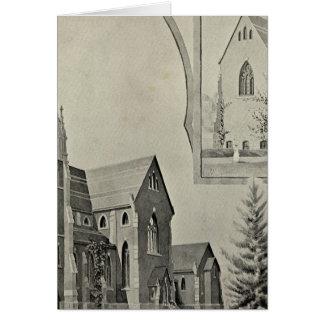St Francis Church, Naugatuck Greeting Card